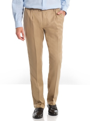 Pantalon droit tout confort