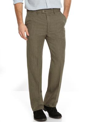 Pantalon à ceinture réglable invisible