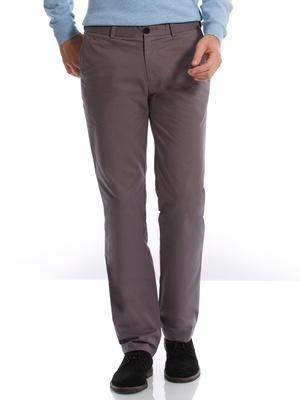Pantalon droit gabardine pur coton