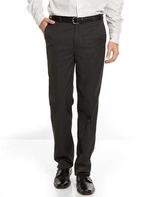 Pantalon droit ceinture élastiquée côtés