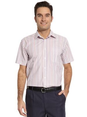 Chemise pur coton, manches courtes