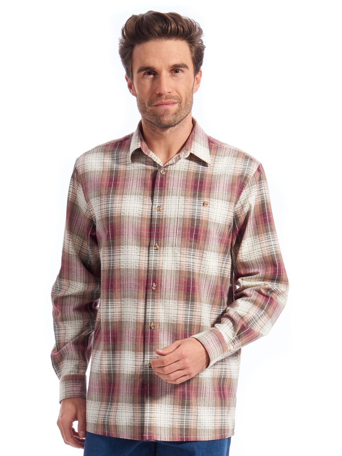 e7883bdb70ef Lot de 2 chemises à carreaux en flanelle - Daxon