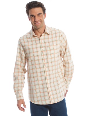 Chemise flanelle à carreaux, coupe ample