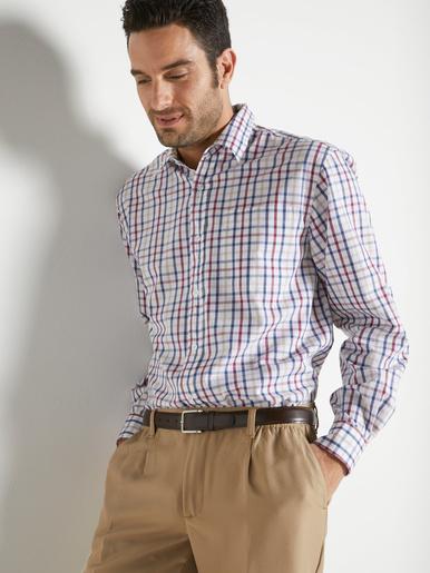 Chemise manches longues pur coton