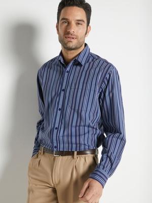 Chemise manches longues, pur coton