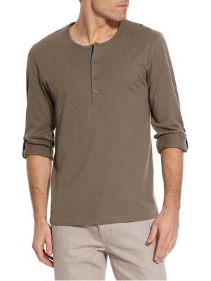Tee-shirt à manches retroussables
