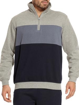 Sweat-shirt molleton, intérieur gratté
