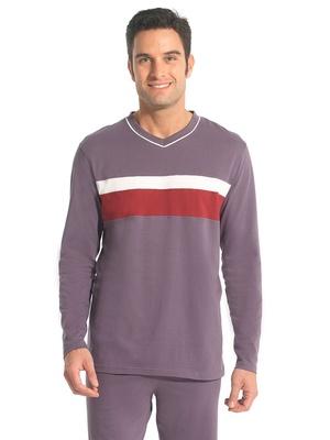 Pyjamas jersey pur coton, lot de 2