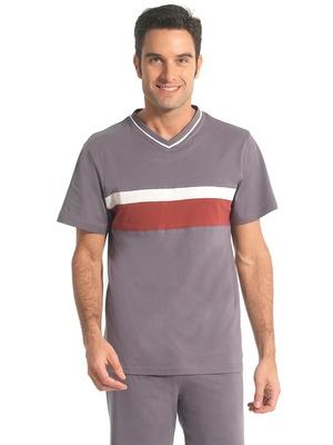 Pyjashorts à rayures en jersey, lot de 2