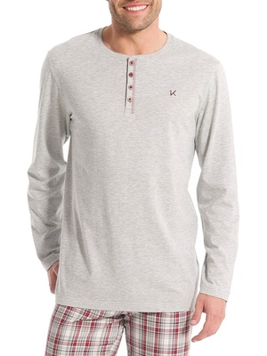 Tee-shirt de pyjama manches longues