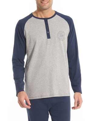 Pyjama bicolore maille jersey
