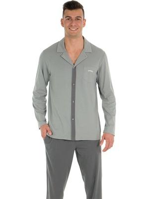 Pyjama homme long Bio Athena