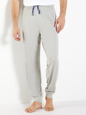 Lot de 2 pantalons pyjama, bas resserrés