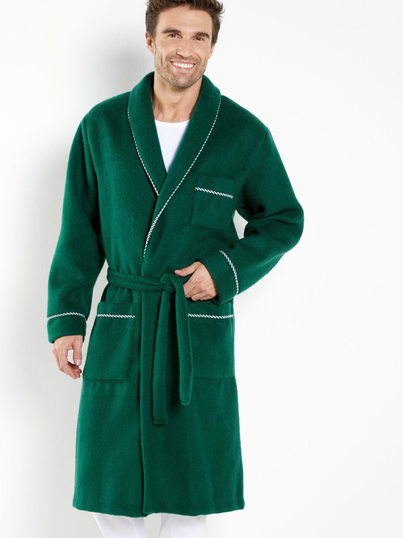 a076c34a8ba91 Robe de chambre, maille courtelle® - Daxon