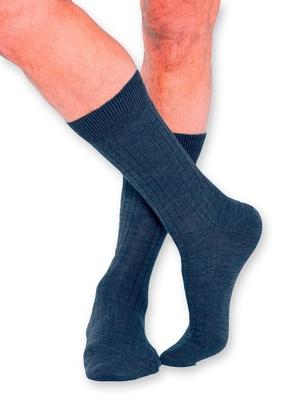 Mi-chaussettes laine mérinos, 2 paires