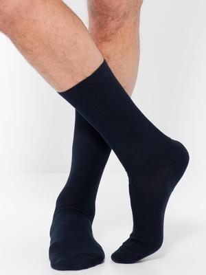 Mi-chaussette sans compression, 2 paires