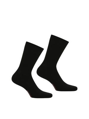 2 paires de chaussettes en fil d'Ecosse