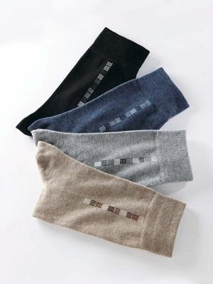 Mi-chaussettes, lot de 4 paires