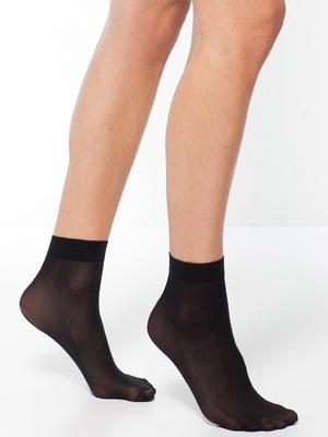 Mi-chaussettes 40 deniers, lot 7 paires