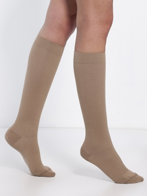 Mi-bas jambes sensibles, lot de 2 paires