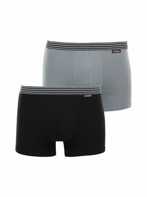 Boxers coton extensible, lot de 2