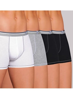 Lot de 3 shorties pur coton + 1 gratuit
