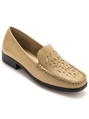 bfc96d8f621340 Mocassin femme, sans gêne, chaussures pieds larges