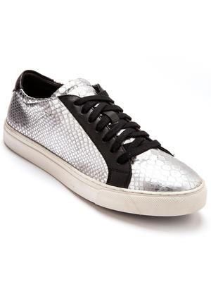 Sneakers argentées