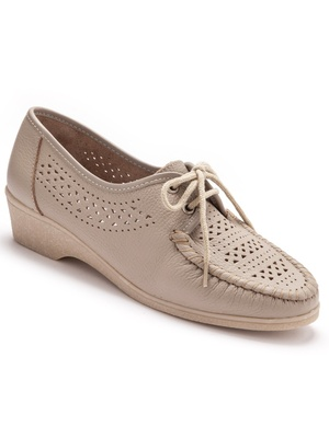 Derbies confort total, en cuir