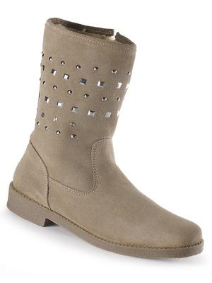 Boots entièrement fourrées