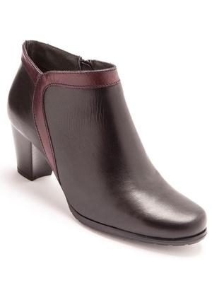 Boots bicolores à aérosemelle®