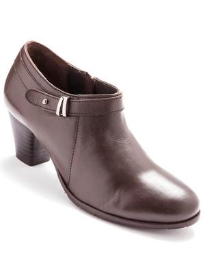Boots courtes en cuir