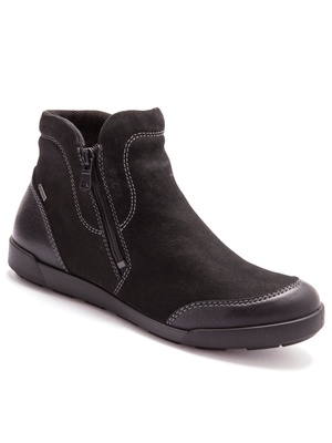 Boots cuir nubuck, semelle amovible