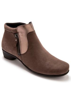 Boots cuir à aérosemelle®, extra larges