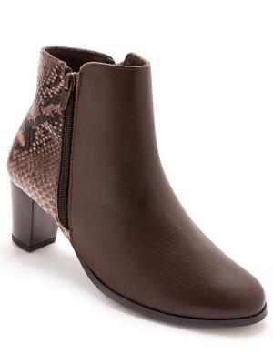 Boots à double glissière
