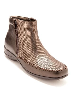 Boots cuir ultra souples