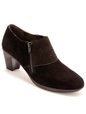 Boots cuir extensible, aérosemelle®