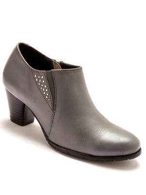 Boots basses avec zip, largeur confort