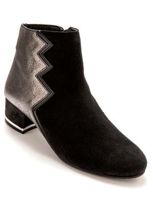 Boots bicolores