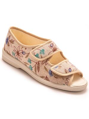 Sandales en toile à ouverture totale