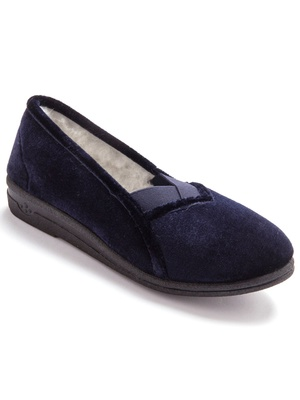 SOLDES Pantoufles femme, chaussons femmes, pieds larges, mules éponge 310e72f529cf