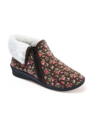 6310a2ffdc545 SOLDES Pantoufles femme, chaussons femmes, pieds larges, mules éponge