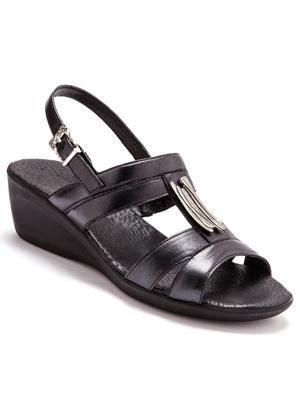 Sandales cuir option chic