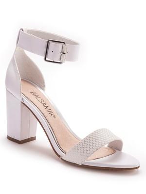 Sandales à talon droit