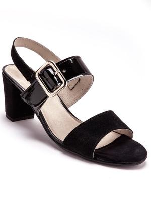 Sandales bimatière