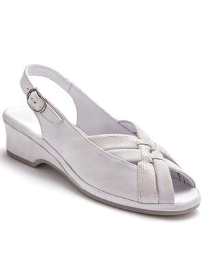 Sandales à aérosemelle®, en cuir