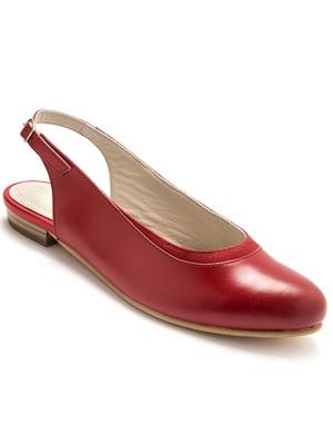 Sandales cuir bride arrière