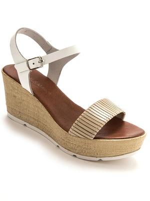 Sandales cuir ultra légères
