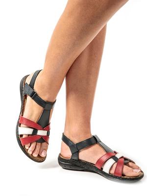 Sandales en cuir ultra légères