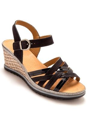 Sandales cuir, montage California